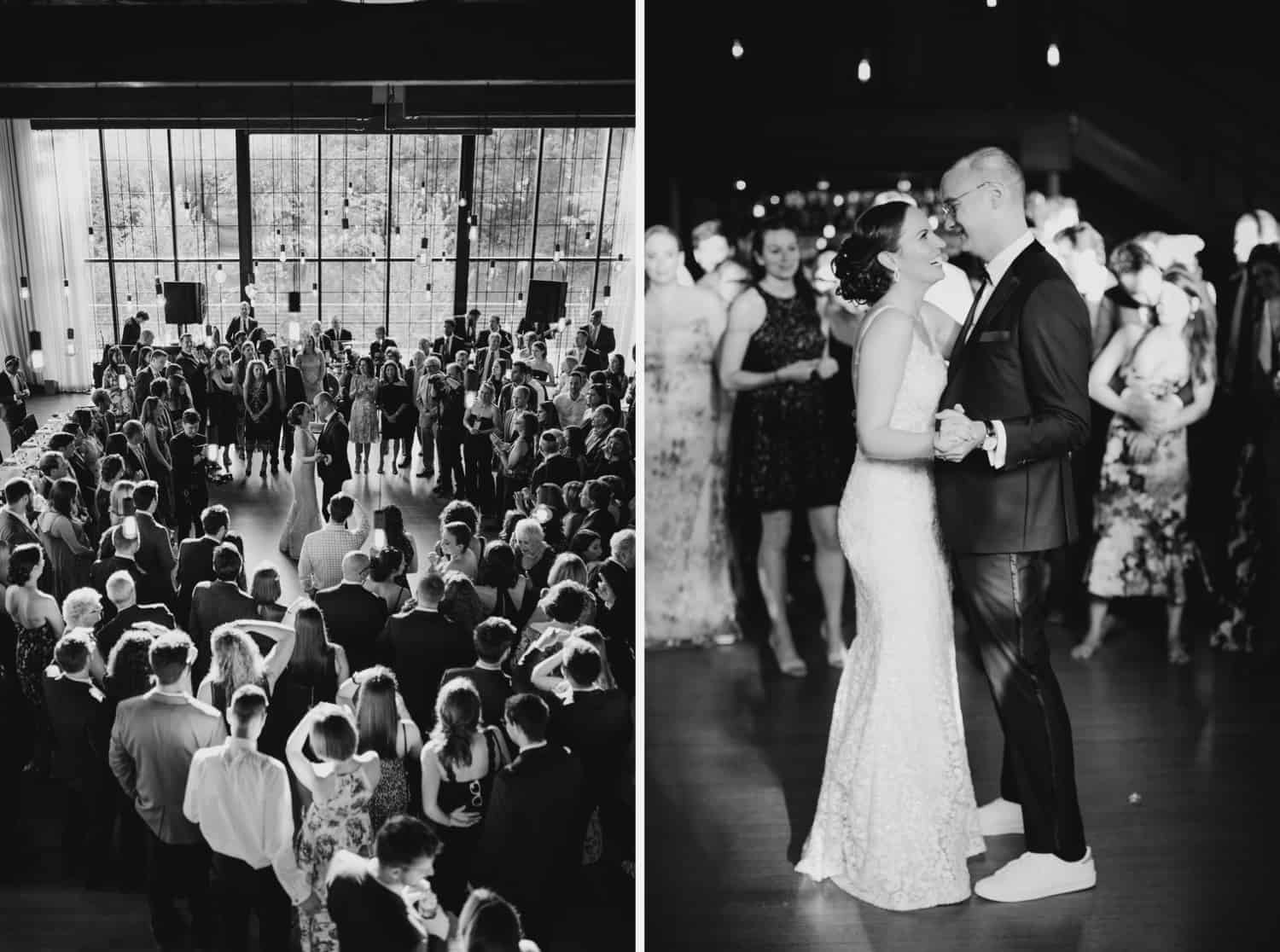 First dance, The roundhouse wedding