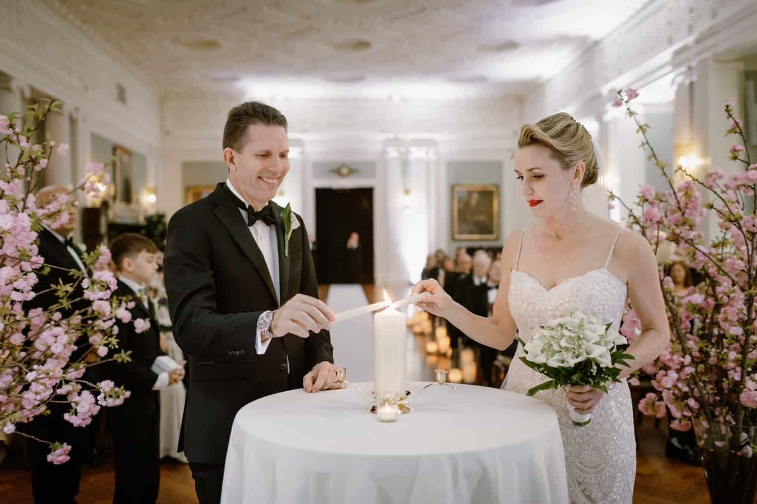 Wedding Ceremony, The Yale CLub Wedding, New York City Wedding
