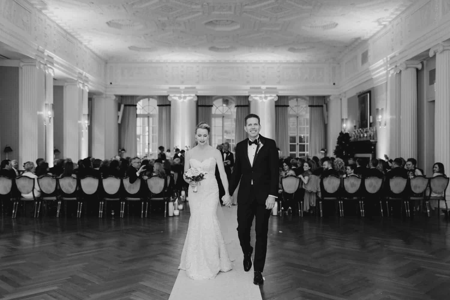 Elegant New York City wedding at The Yale Club