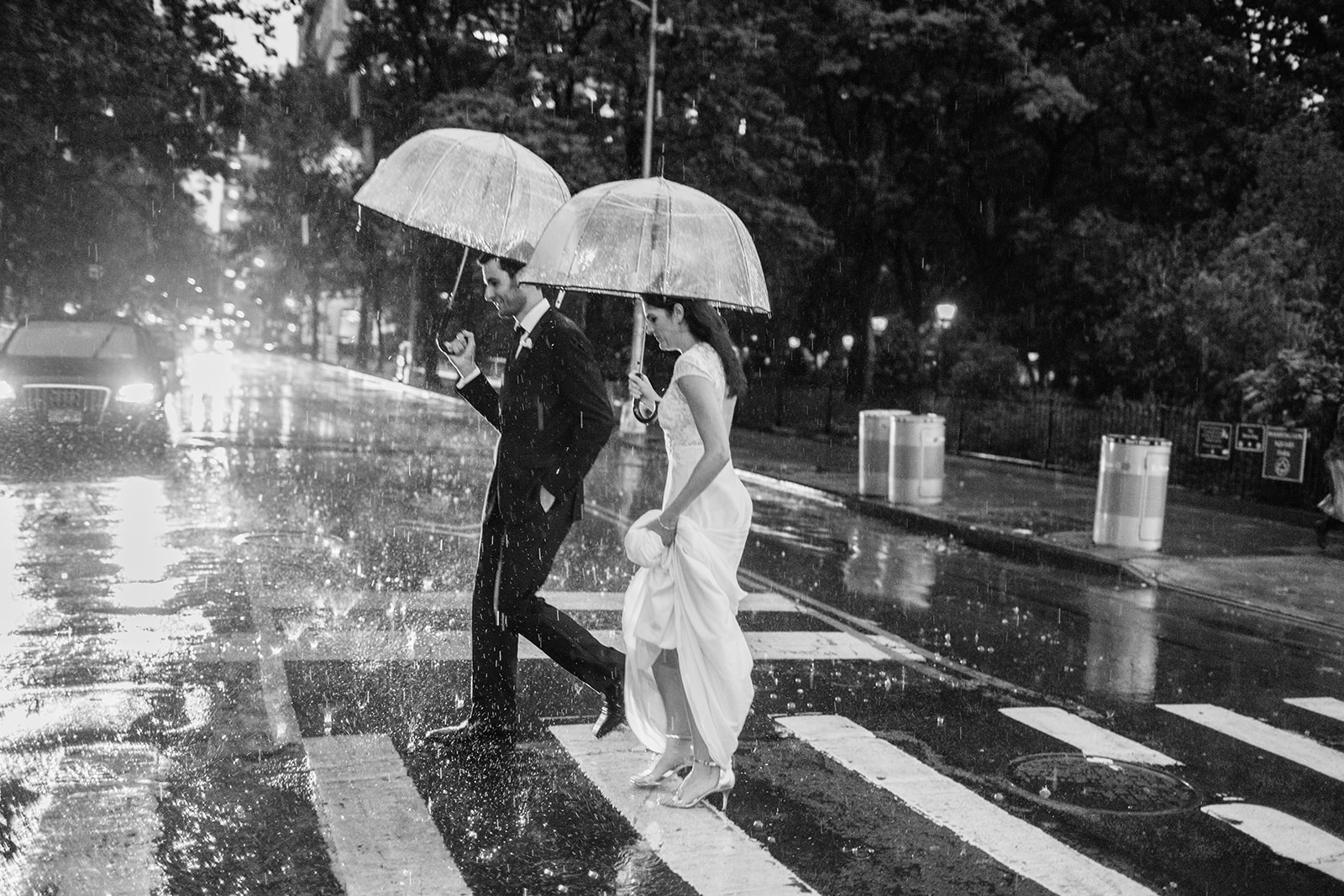 What to do when it rains on a wedding day